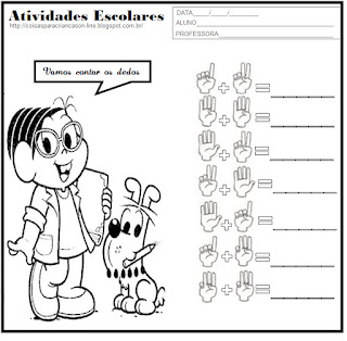 Atividades Escolares Matematica - Atividades para Crianças