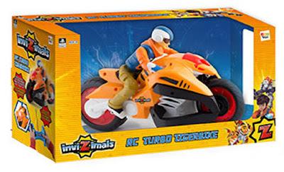 TOYS : JUGUETES - INVIZIMALS RC Turbo Tigerbike | Moto de Hiro | Radiocontrol Producto Oficial de la Serie | IMC Toys 30558 | A partir de 4 años Comprar en Amazon España