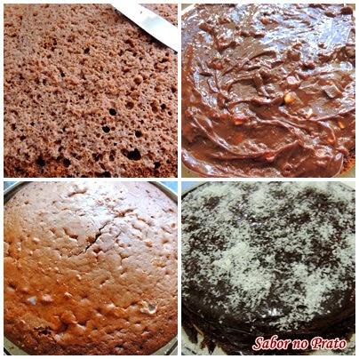 Bolo de Aniversário de Chocolate com passo-a-passo