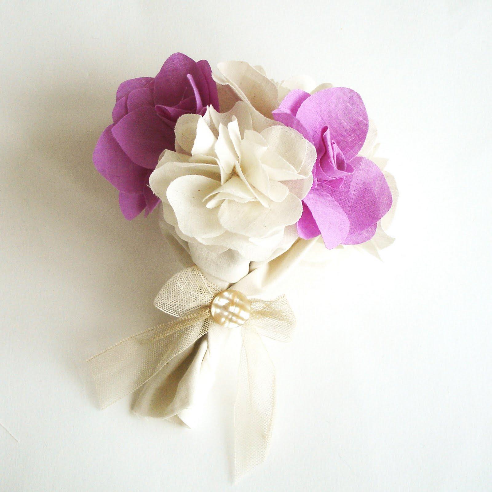 Fabric Flower Mini-Bouquet Workshop Details: | We Make London