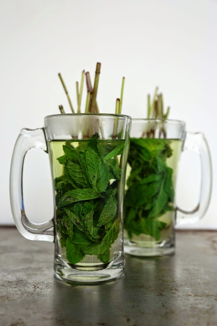 mint tea for health