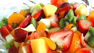 Ягодно Фруктовый салат с ананасом - Ресторан дома