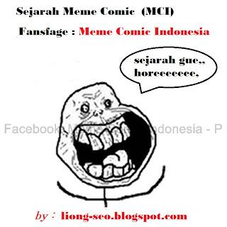 Sejarah awal mula ekspresi muka meme comic, (funny)