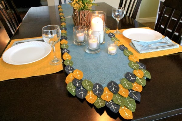 cute, modern, and easy! #thanksgivingtable #falltable #turkeytablescapes #myclevernest