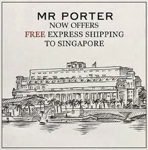 Mr Porter Now Ships FREE To Singapore!