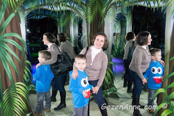 oğlumla aynalı labirentte çok eğlendik, İstanbul Akvaryum