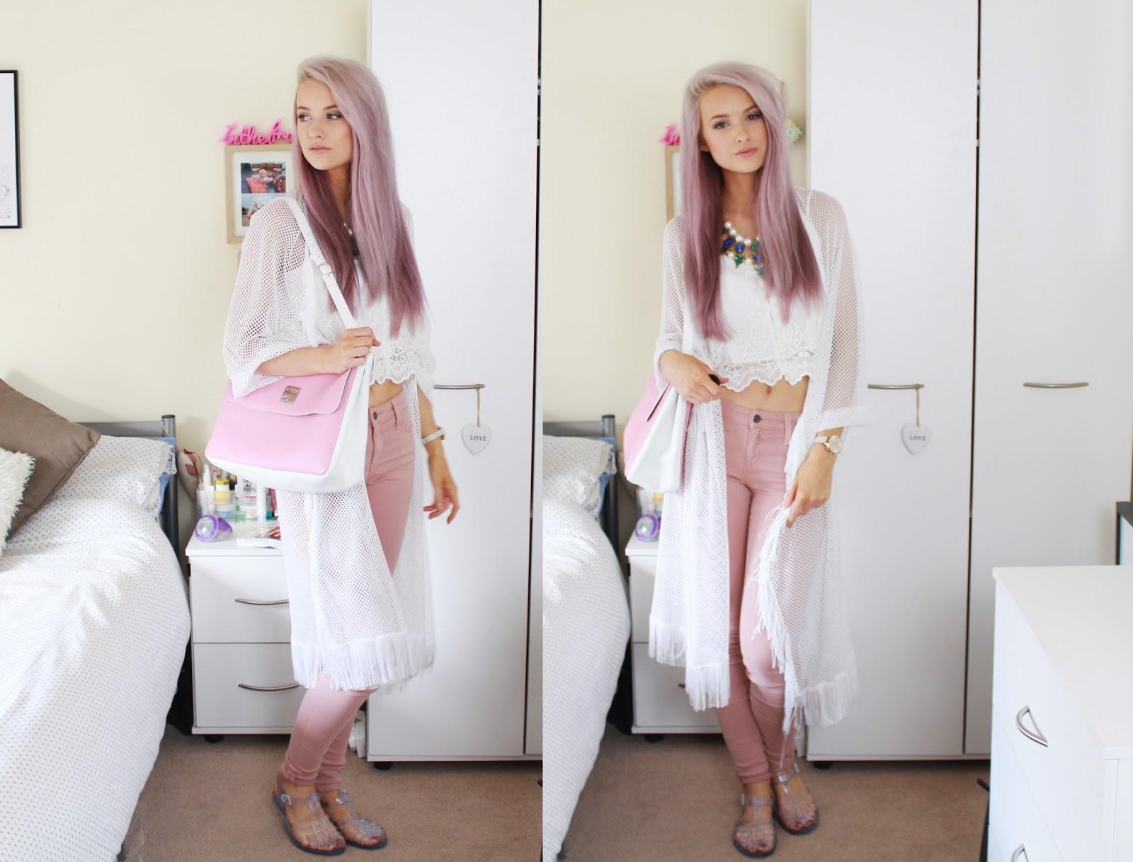 marvelous victoria's secret pink jeans