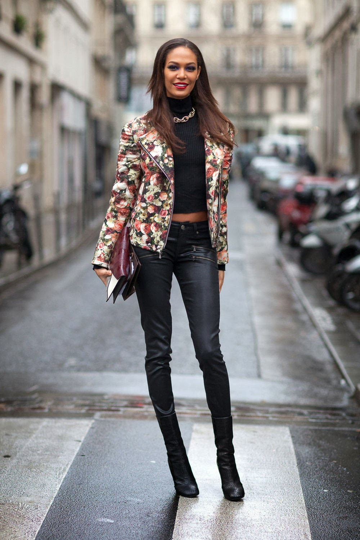 givnechy floral biker jacket joan smalls