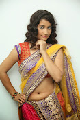 santoshini sharma photos in half saree-thumbnail-18