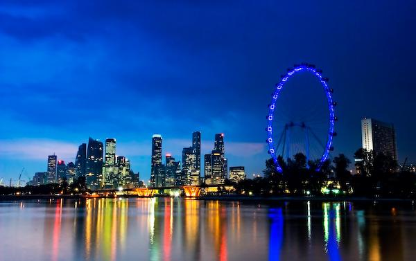 postal singapur flyer bay singapore
