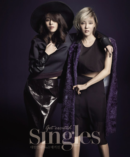 Jiyeon Hyomin Singles November 2014