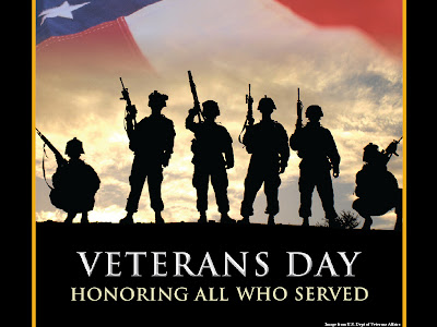 Free Veterans Day PowerPoint Background 1