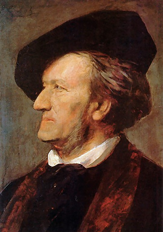 Franz  von  Lenbach  portrait  of  richard  wagner