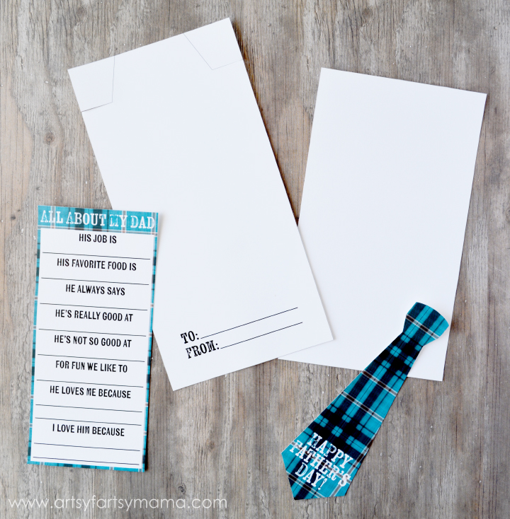 Free Printable Father's Day Candy Bar Wrapper and Questionnaire at artsyfartsymama.com