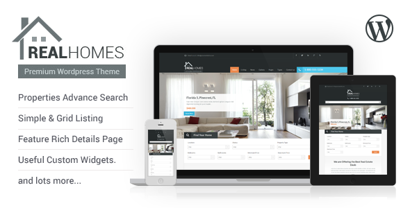 Download ThemeForest Real Homes - WordPress Real Estate Theme for free.