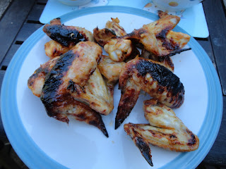 Grilled Chicken Wings!