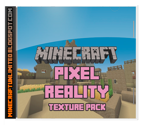 Pixel Reality Texture Pack minecraft