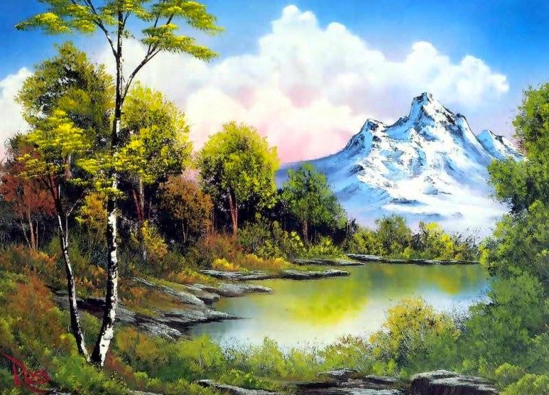 montanas-nevadas-cuadros-al-oleo