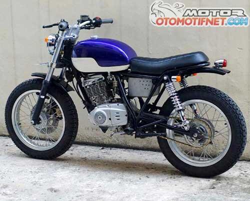 Modifikasi Suzuki Thunder 125 Jap Style
