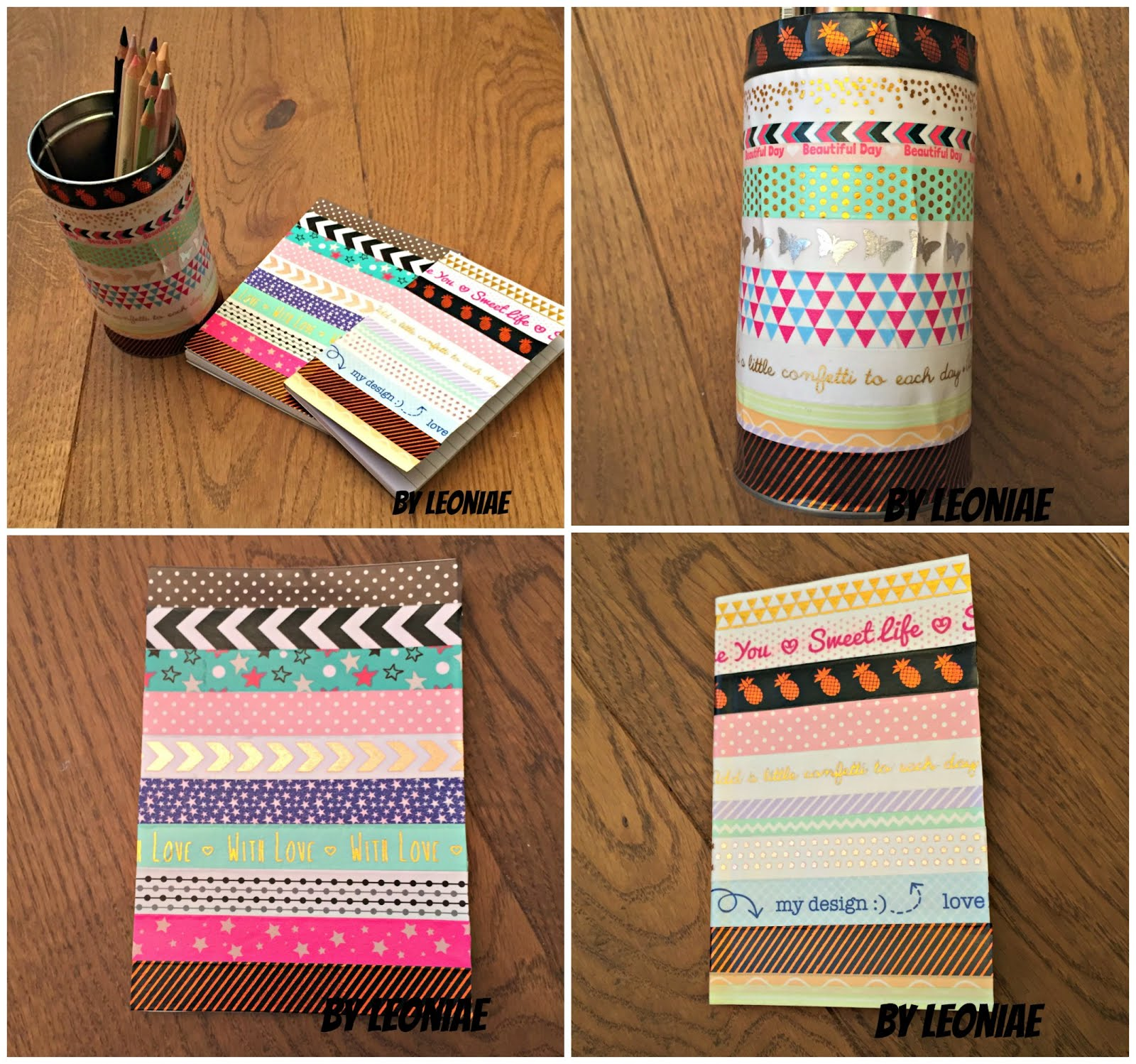 Creative with washi tape