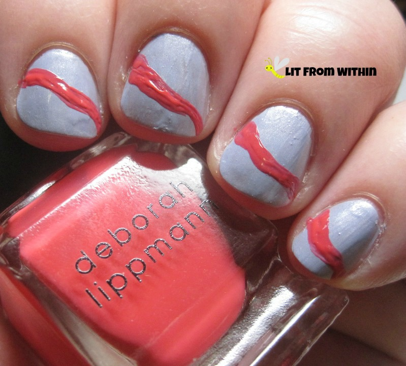 a coral from Deborah Lippmann called Girls Just Want To Have Fun