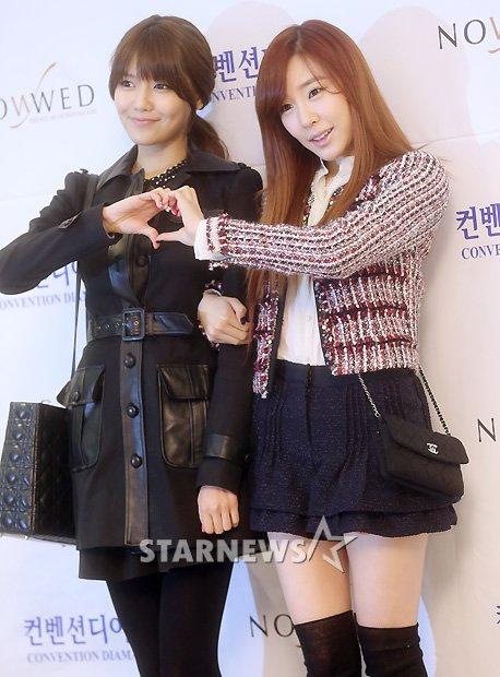 Sooyoung dan Tiffany SNSD Hadir di Pernikahan Hong Rok-gi 17
