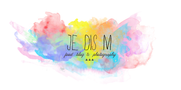Je dis M.  Food & Blog