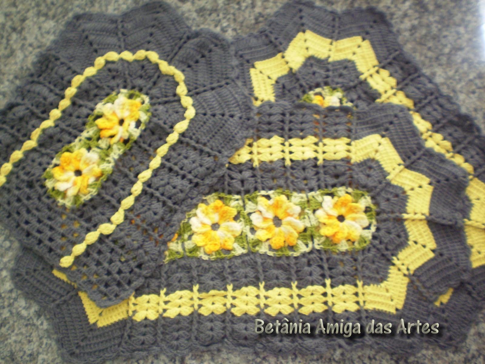 Ateliê Coração Pura Arte Betania: Conjunto de tapetes para banheiro #B49917 1600 1200