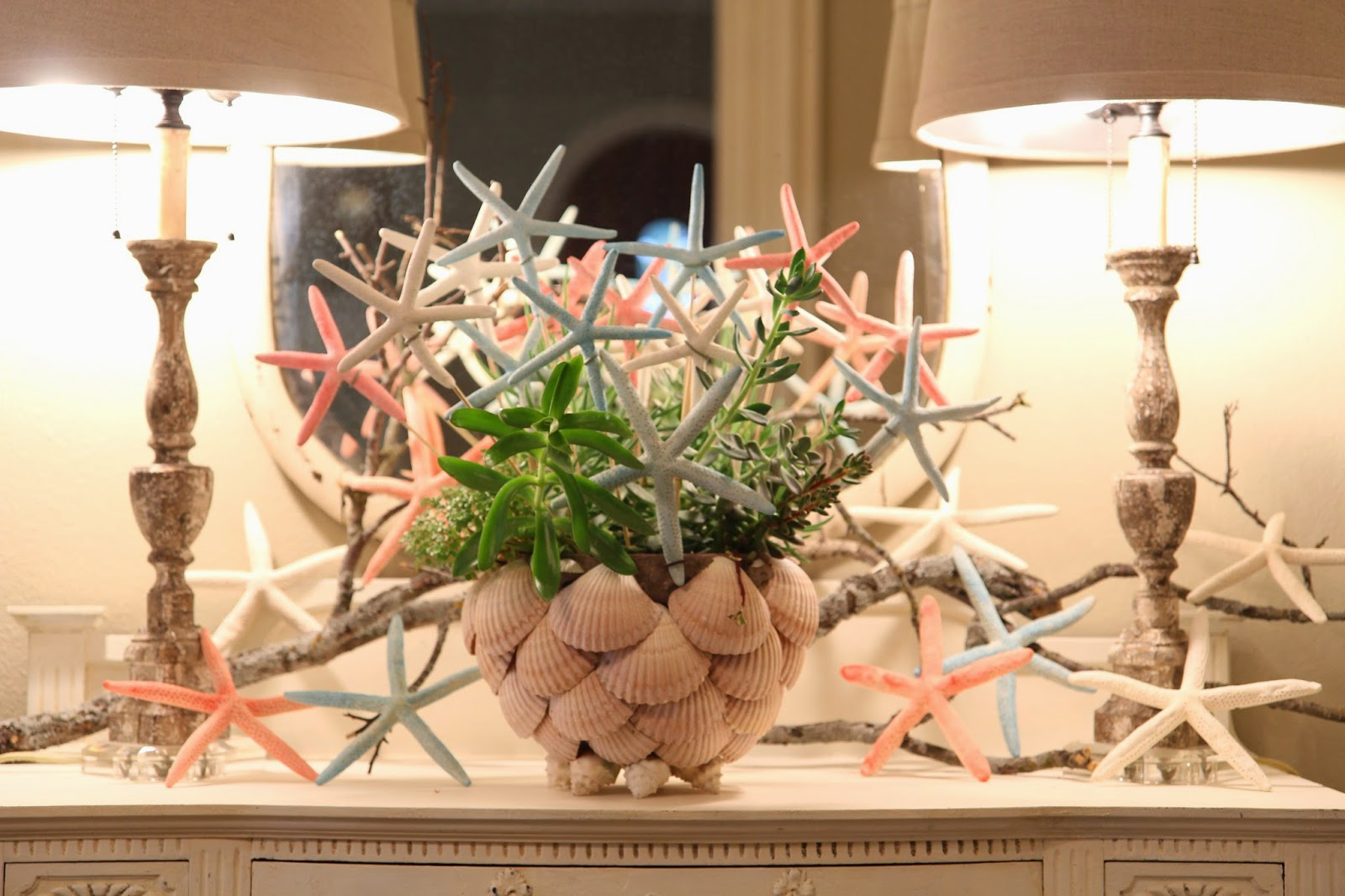 Starfish Arrangement; Stars for the 4th of July; Nora's Nest
