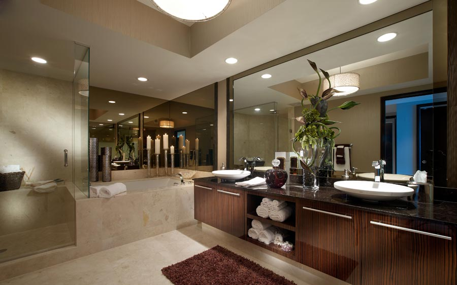 Spa inspired master bathroom inspiration for beautiful for Spa inspired bathroom designs