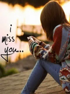 Download I Miss You Sad Girl In Love Wallpaper