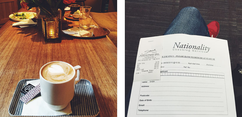 Important moments // coffee time and nationality check!