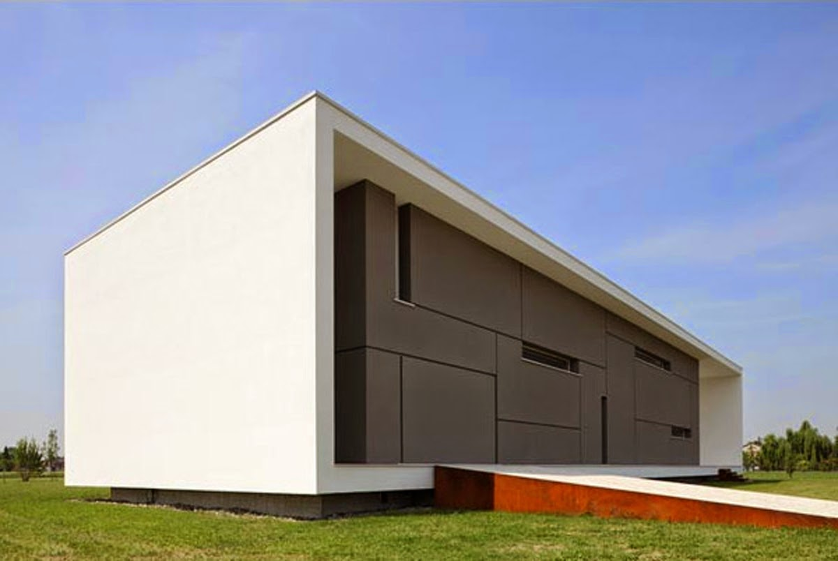 Art now and then minimalist architecture for Minimalist box house design