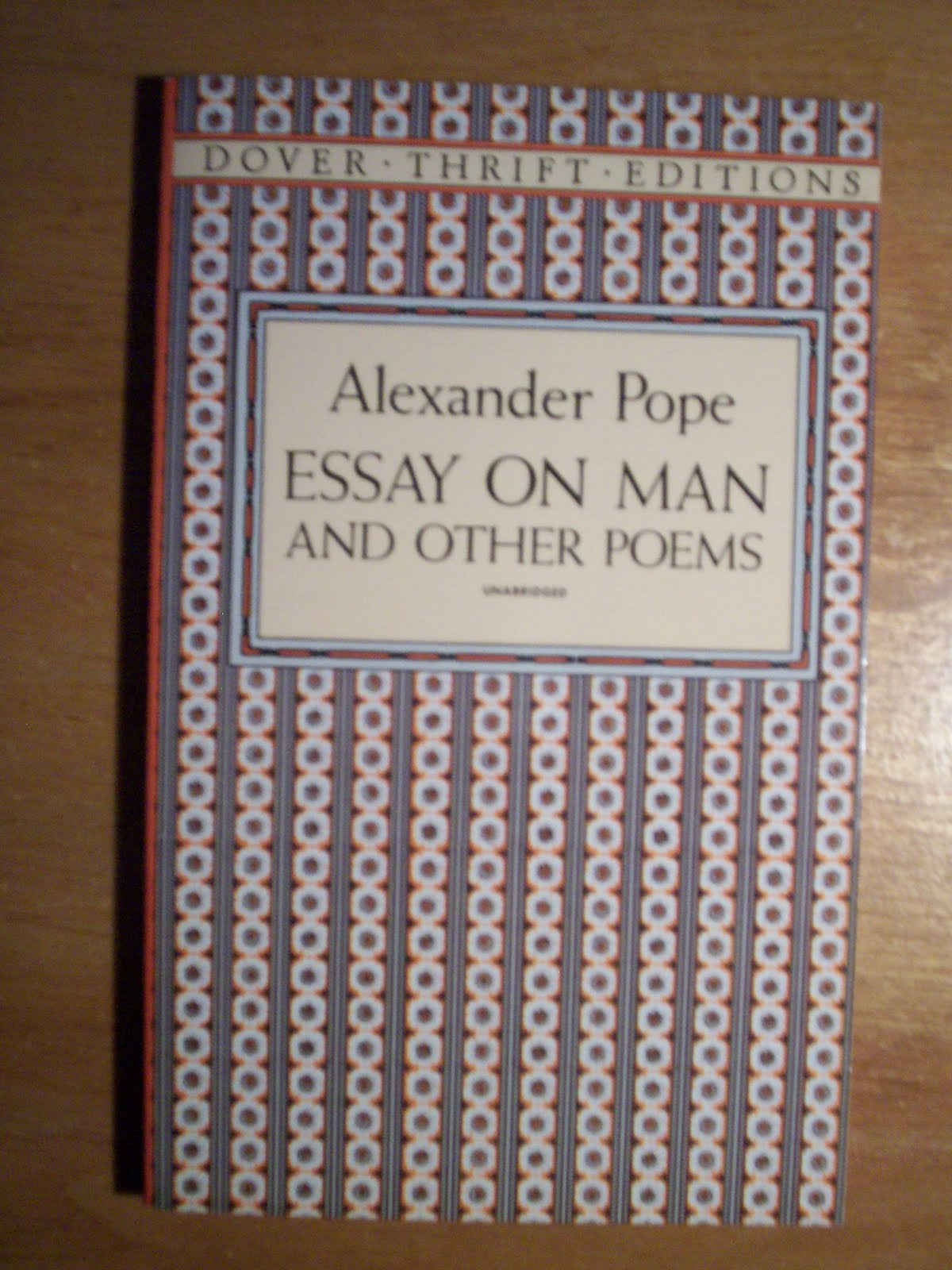 essay on man sparknotes pope alexander Alexander pope – an essay on manpage 1 of 12 an essay on man: epistle i summary the subtitle of the first epistle is.