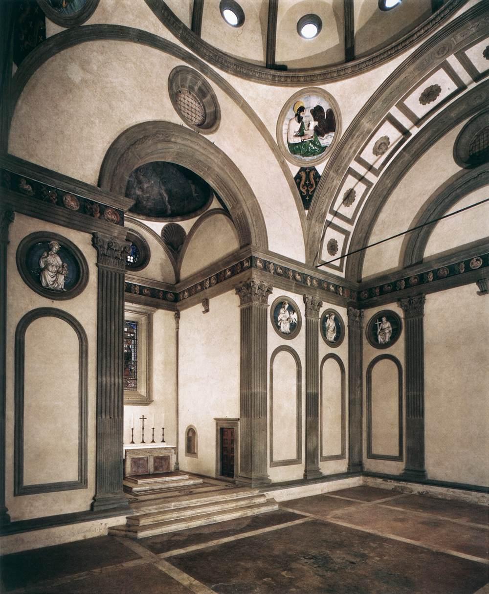 La maleta de glo paseo tem tico por la florencia de for Interior iglesia san lorenzo brunelleschi