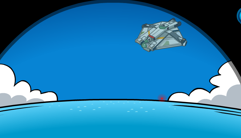 Star Wars Spacecraft Club Penguin