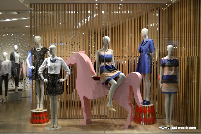 витрины и оформление магазинов