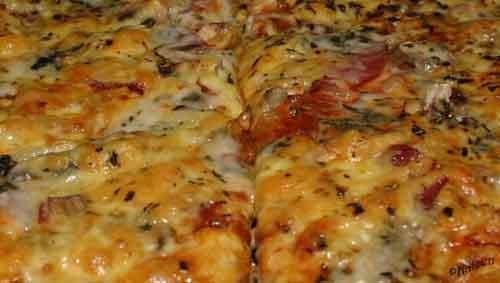 Hemmagjord pizza Gorgonzola delight