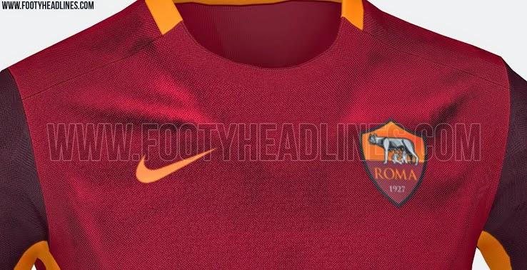 jual online Jersey As Roma home terbaru musim depan 2015/2016