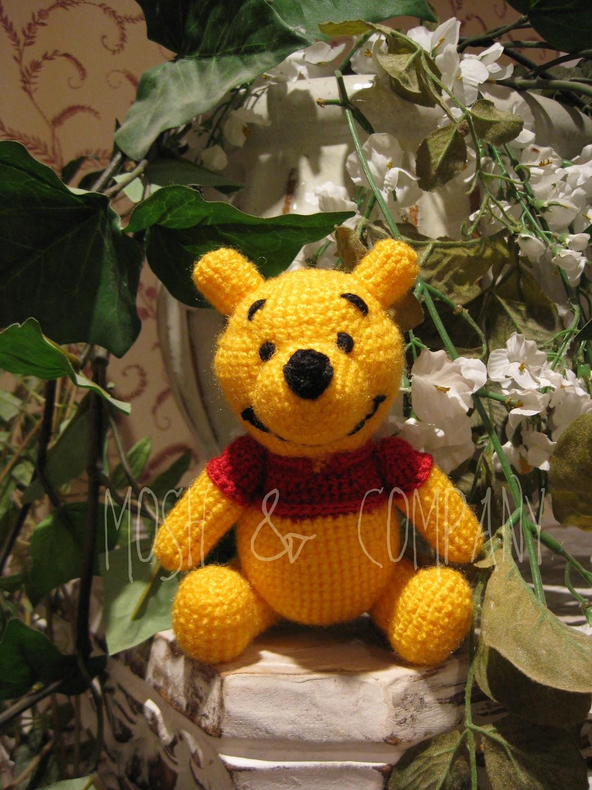 Amigurumi Winnie The Pooh : MOSH & COMPANY: Winnie The Pooh