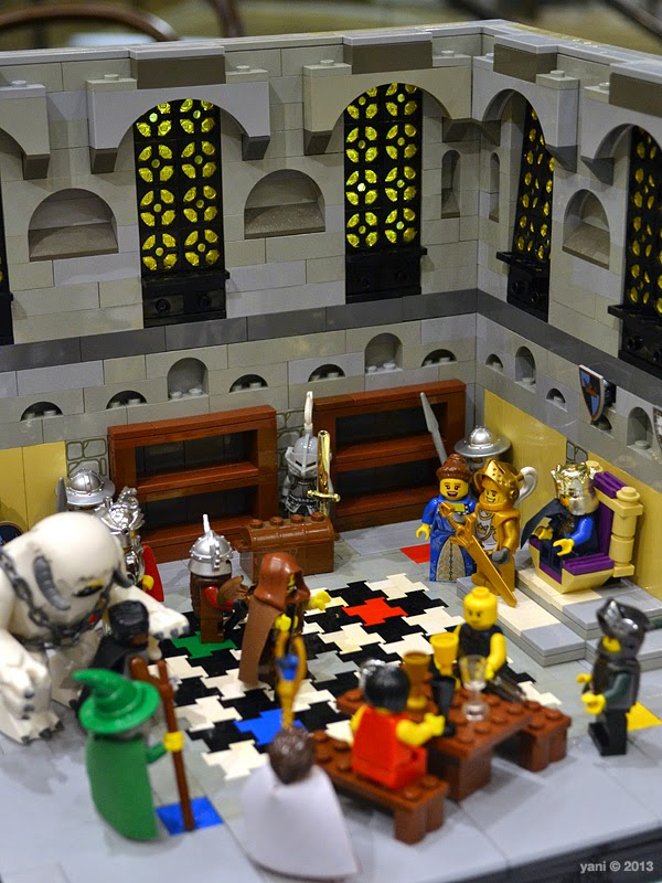 lego throne room