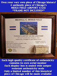 CLICK HERE TO PURCHASE A PIECE OF CHICAGO'S MEIGS AIRPORT
