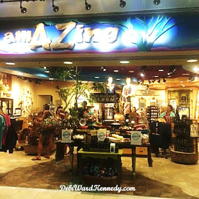 regional style in retail displays gift shop