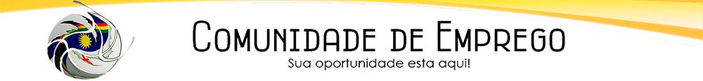 COMUNIDADE DE EMPREGO EM PERNAMBUCO