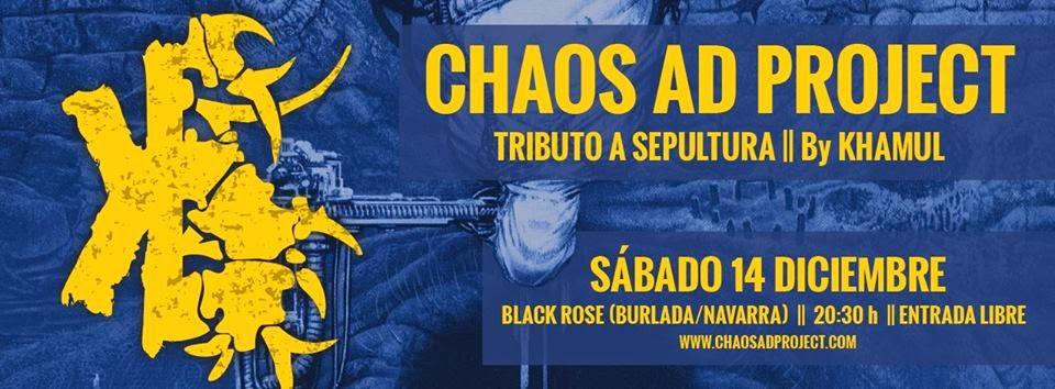 CHAOS AD PROJECT, DEBUT EN BLACK ROSE!!