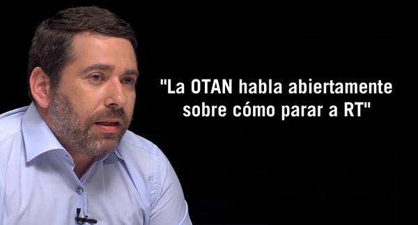 """Javier Couso: """"La OTAN habla abiertamente sobre cómo parar a RT"""""""