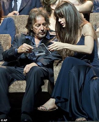 Al Pacino Girlfriend Image 2012