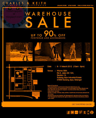 Charles and Keith Warehouse Sale 2012