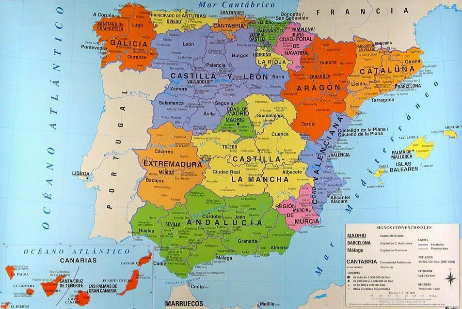 Peninsula Iberica Mapa Fisico  My blog