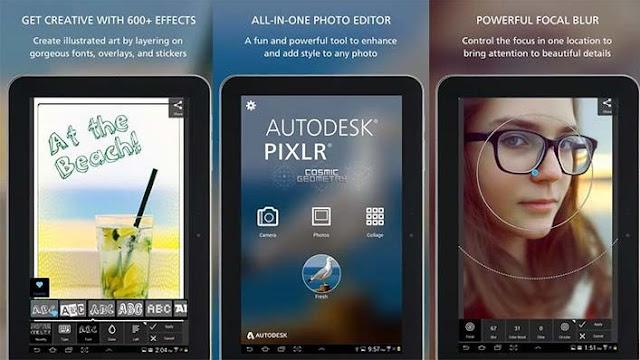 Aplikasi edit foto android terbaik - autodesk pixlr